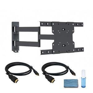 full motion led samsung tv wall mount bracket 23 26 32 37. Black Bedroom Furniture Sets. Home Design Ideas