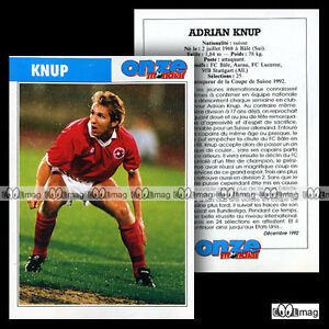 Acheter Pas Cher Knup Adrian (vfb Stuttgart) - Fiche Football / Fussball 1992 Bonne RéPutation Sur Le Monde