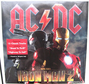 AC-DC-LP-x-2-Iron-Man-180-Gram-SEALED-Vinyl-Sticker-in-cellophane-NEW-Highway