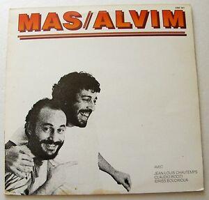 Jean-Pierre-MAS-Cesarius-ALVIM-FRENCH-jazz-ORIG-LP-POLYDOR-2393-301-1981