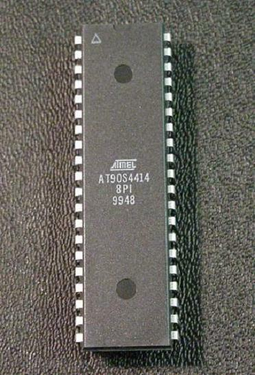 AT90S4414-8PI [ QTY 5 ] 40-pin DIP uController AVR Atmel
