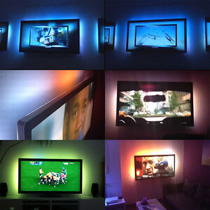 Image Is Loading 1M USB LED Strip TV Background Lighting DIY