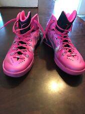 d44b5ff47aca Nike Hyperdunk 2014 Breast Cancer Pink Black Basketball Shoes 2015 ...
