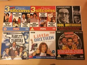 5-Comedy-DVDs-1-Cd-Promos