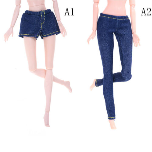 Elastic Jeans Trousers Long Pants Shorts For Blythe 1//6 Dolls AccessoriesCRIT