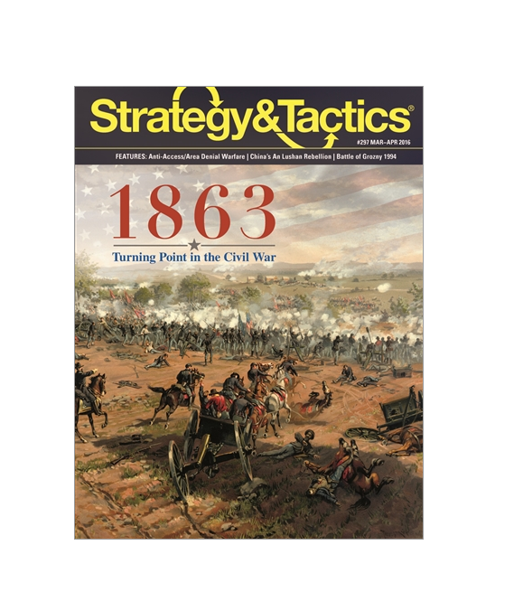 Strategy & Tactics Magazine  297 w  1863, NEW