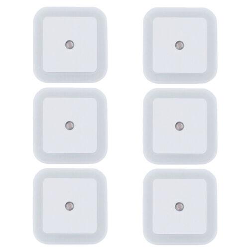 1//2//4//6Pcs Sensor LED Night Light Wall Lamp Smart Control Plug-In Lighting Kids