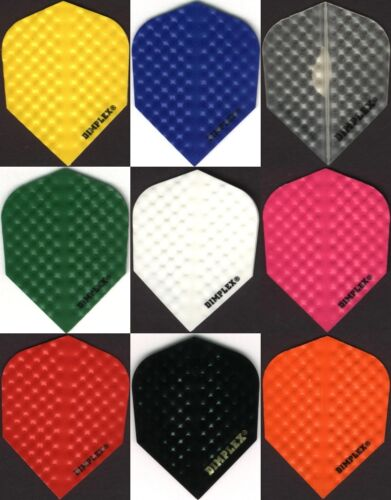 """6 PACK OF DIMPLEX"" Dart Flights: STANDARD Cut: 6 sets"