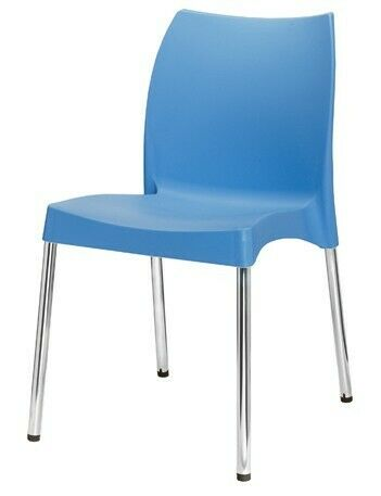 Cafe Chair Without Arms- Heavy Duty (Available in different Colours)