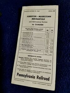 1967-Pennsylvania-Railroad-Pemberton-Branch-Local-Passenger-Timetable-143