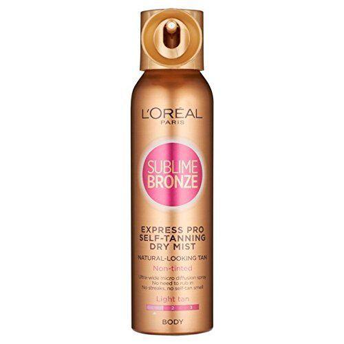 L'Oréal Sublime Bronze Pro vaporisateur 150ml Light