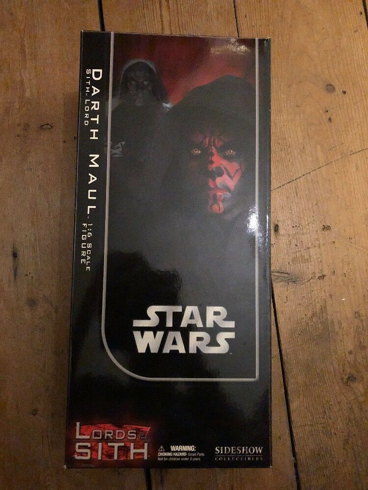 Sideshow Star Wars Lord of the Sith Darth Maul Sith Lord AF SSC1065