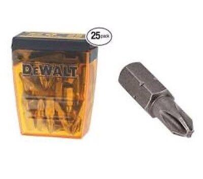 25pc DEWALT DT7300 25mm Pr2 Screwdriver Drill Bits Power Cordless Impact Screw