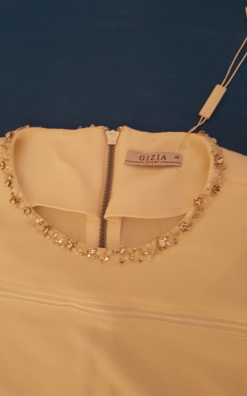 Gizia Gizia Gizia Sports Kleid weiß Größe 36 NEU Preis 500 Euro Kostüm Göttin Engel Fee Eis 660557
