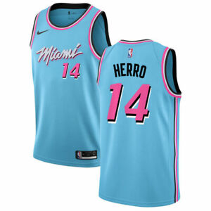 Brand New 2019 2020 Nike Miami Heat Tyler Herro 14 City Edition Swingman Jersey Ebay