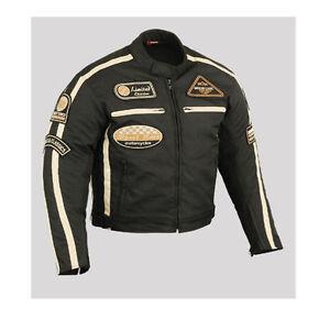 motowear-MOTO-GIACCA-TESSUTO-NERO-UOMO-MISURA-GR-S-M-L-XL-XXL-XXXL