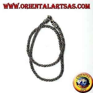 Edelmetall Ohne Steine Trendmarkierung 925 Silberne Halskette Mop 45 Cm Blut NäHren Und Geist Einstellen