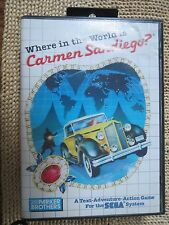 SEGA - WHERE IN THE WORLD IS CARMEN SANDIEGO? - 1988