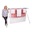 thumbnail 1 - Mrs Peggs Deluxe 10 Line Clothesline Outdoor Indoor Portable-Airer Clothes Line
