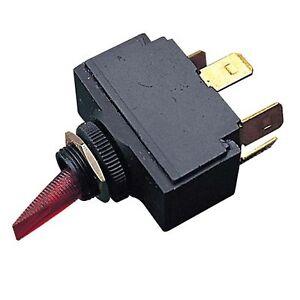 Sea Dog 420111-1 Illuminating Toggle Switch On-Off Spst