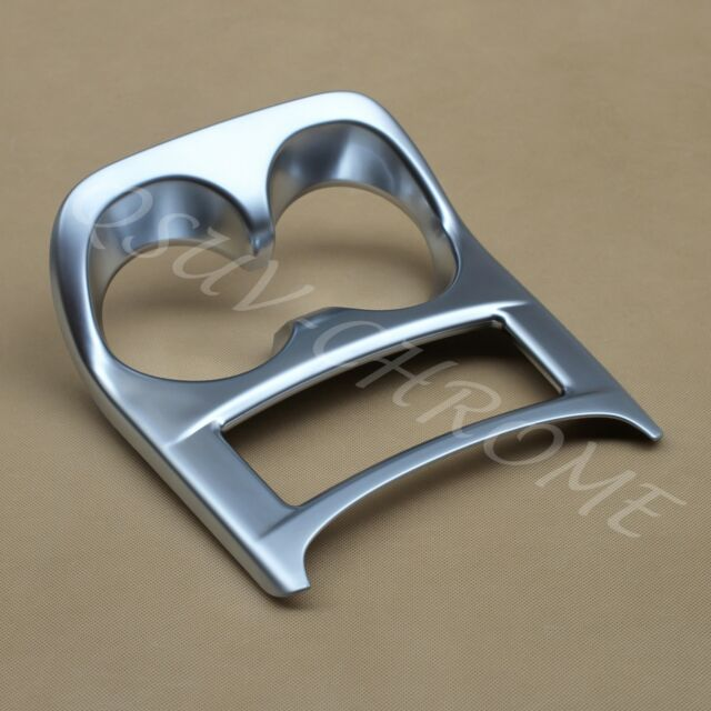 Cup Holder Cover For Nissan Qashqai J11 2014-2018 Chrome Interior Trim Molding