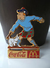 RARE pin's Tintin Coca Cola Mc Donald