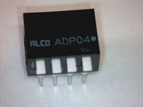 DIP Schalter 4-fach DIP-Switch Hebelschalter Mäuseklavier