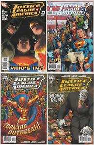 Justice-League-of-America-amp-ELITE-LOT-24-VF-DC-comics-2004-08-Michael-Turner