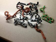 KLIXX TOY chains by weight -- Discounted! Incl/ Random Key Chains & Snakes!