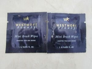 WESTMORE-BEAUTY-MINI-BRUSH-WIPES-LOT-OF-2-SEE-DETAILS