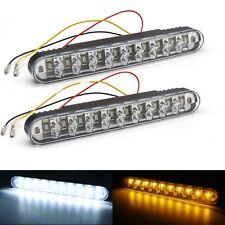 2 X 30 LED Car Truck Daytime Running Light DRL Turn Signal Indicator Fog Lamp UK