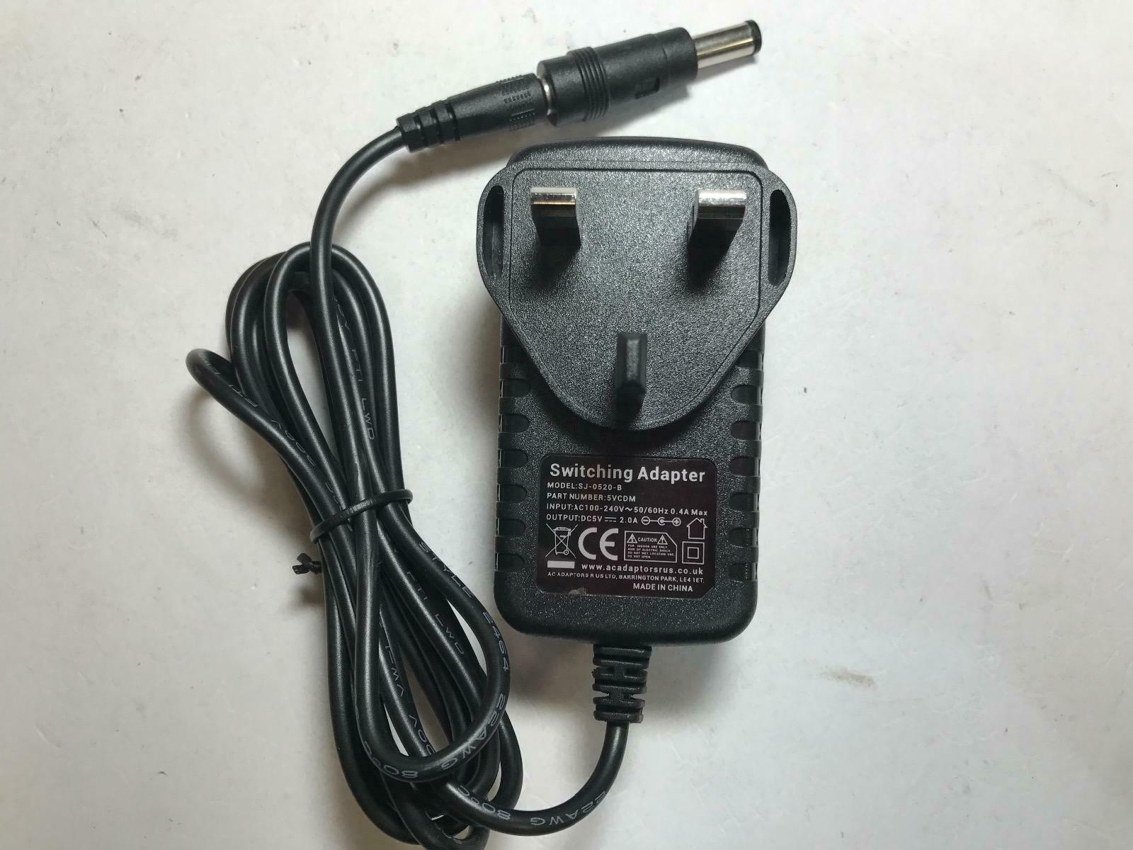 5V 1.2A AC-DC Adaptor Power Supply for Tellermate T-ix 2000 Portable Money Scale