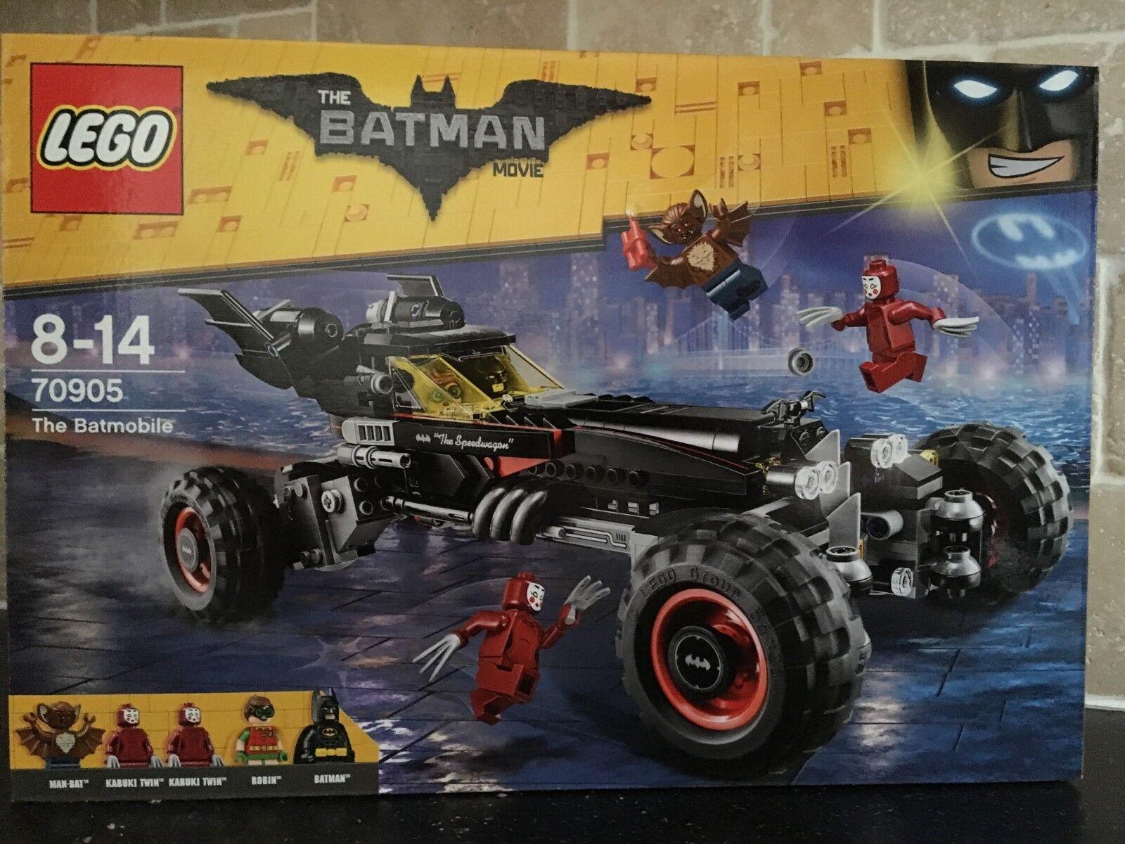 LEGO THE BATMAN MOVIE - 70905 The Batmobile Brand New In Sealed Box
