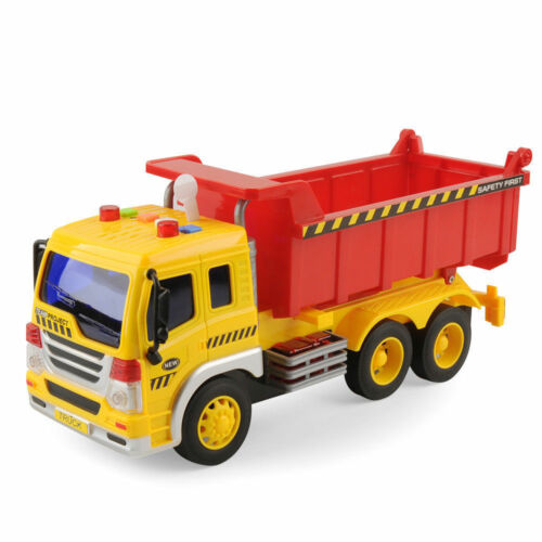 Realistic City Demolition Car EXCAVATOR and Transporter TRUCK Light//Sound Gifts