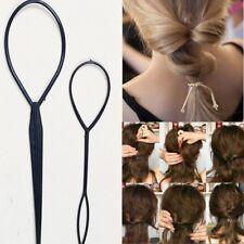 TOPSY TAIL 2er Set Frisurenhilfe Schlinge Schlaufe Haar dreher Hair Twister Zopf