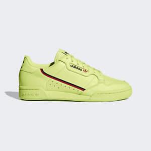 Details about adidas Originals Continental 80 Semi Frozen Yellow Scarlet B41675