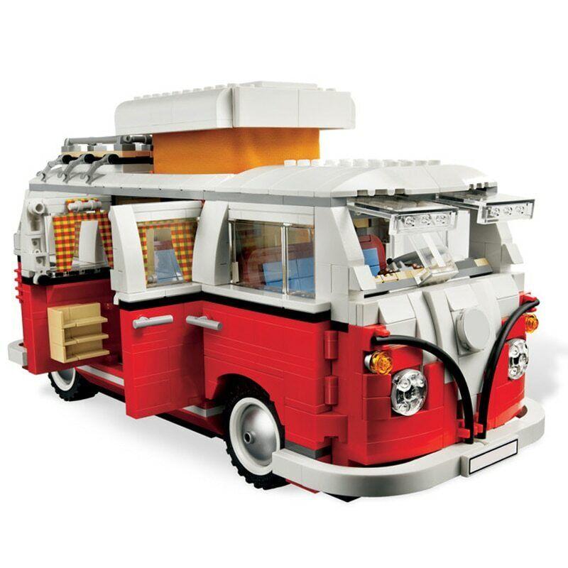 Neu VW Bully T1 Campingbus Creator Expert Building Block 1332 Pcs Geschenke Geschenk