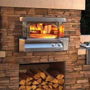 Alfresco 30 Inch Built-In Propane Gas Outdoor Pizza Oven 2020 Model