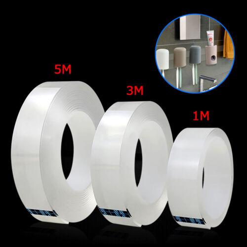 1//3//5M  Nano Tape Waschbares Klebeband Doppelseitiges Nano Invisible Gel Tape