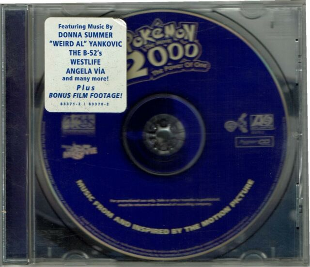 Soundtrack Pokemon 2000 Power Of One Cd Incredible Value And For
