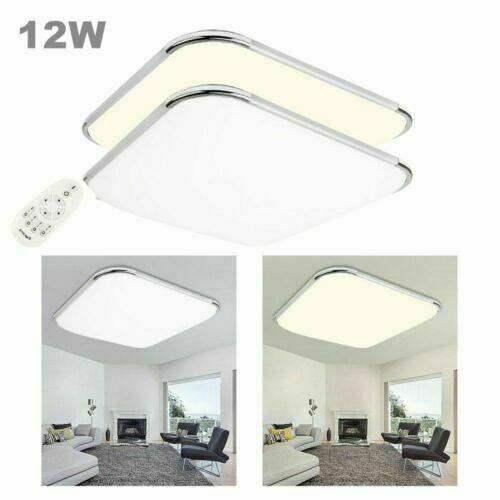 12-96W LED Deckenleuchte Badleuchte Küche Deckenlampe Wohnzimmer Dimmbar