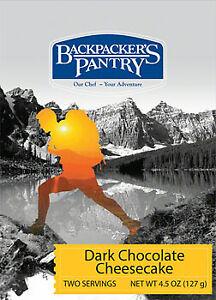 Backpacker's Pantry Dark Chocolate Cheesecake: 2 Servings