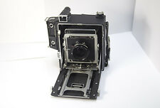 Graflex Crown Graphic 4x5 Large Format Film Camera  with 135mm Nikkor-W lens