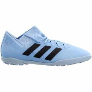adidas-Nemeziz-Messi-Tango-18-3-Turf-Junior-Casual-Soccer-Cleats-Blue-Boys