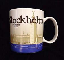 Starbucks Stockholm Mug City Hall Nobel Sweden Kungsholmen Eldkvarn Icon US Ship