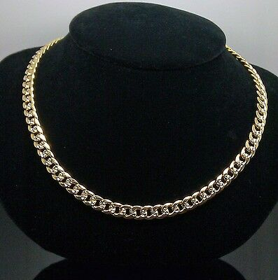 "10k Gelbgold Miami Kette Mit Diamant Cuts 26 "", Franco Seil Italienisch"