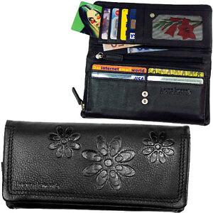 4378393004d3ae Das Bild wird geladen BRUNO-BANANI-Damen-Brieftasche-Geldboerse-Geldbeutel- Portemonnaie-Geldtasche