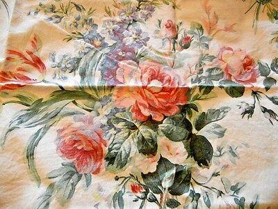 Rare Ralph Lauren Vanessa Floral Standard Pillowcase Chartwell Collection Roses
