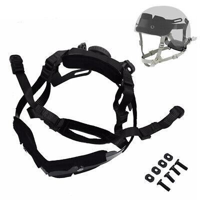 Tactical Helmet Dial Liner Locking Suspension System Chin Strap for Fast Helmet