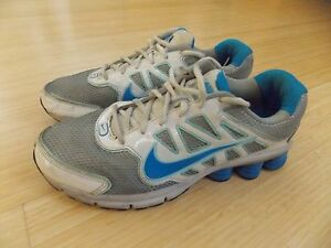 cheaper bdfec c0d7c Image is loading NIKE-Shox-Qualify-2-Womens-Running-Shoes-Sneakers-